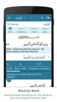 AnalyzeQuran - Read & Study Quran apk screenshot