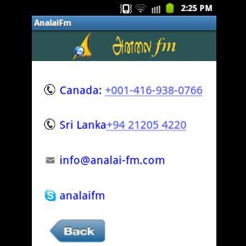 AnalaiFm screenshot 3