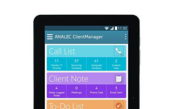 ANALEC ClientManager screenshot 8