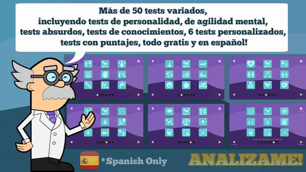 Tests in Spanish screenshot 8