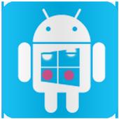Launcher 8 theme Nokia Blue icon