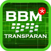 Tema BBM Transparan icon