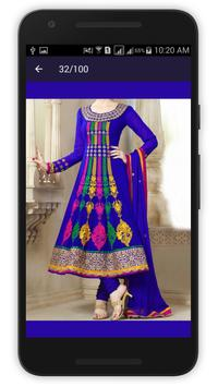 Anarkali Salwar Kameez Design apk screenshot
