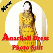 Anarkali Dress Photo Suit icon