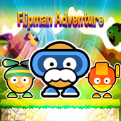 Super Flipman Adventure World icon