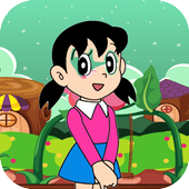 angry girl in adventure icon