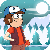gravity guy in adventure icon