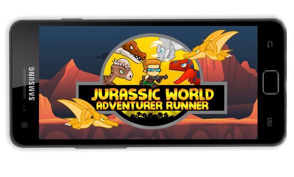 Adventurer Jurassic World poster