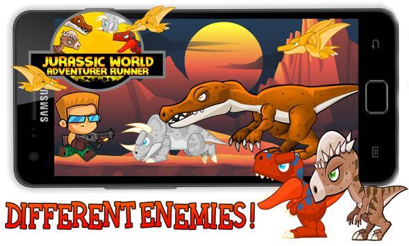 Adventurer Jurassic World apk screenshot