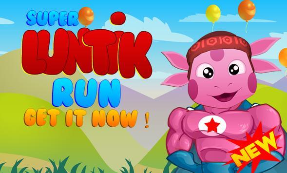 Super Luntik Run Game - Free poster