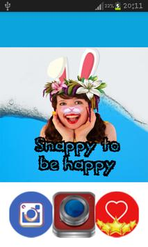 Snappy to be happy poster