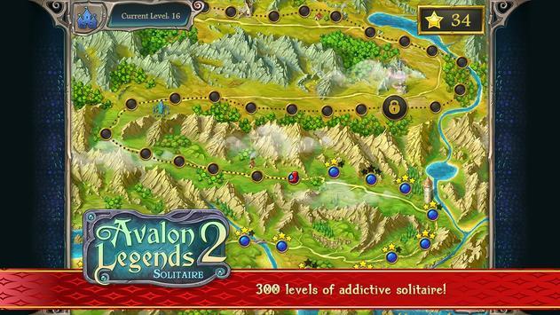 Avalon Legends Solitaire 2 screenshot 3