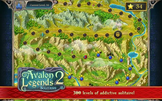 Avalon Legends Solitaire 2 screenshot 13