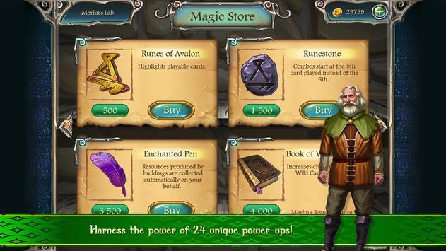 Avalon Legends Solitaire 2 screenshot 4