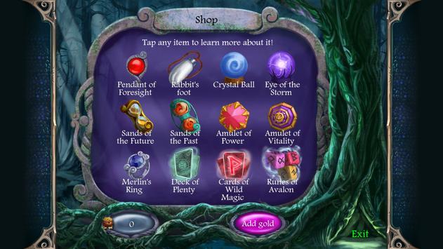 Avalon Legends Solitaire apk screenshot