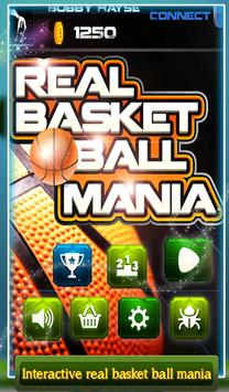 3D Real Basket Ball Mania poster