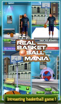 3D Real Basket Ball Mania apk screenshot