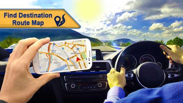 GPS Route Finder Navigation:GPS Navigation Places poster