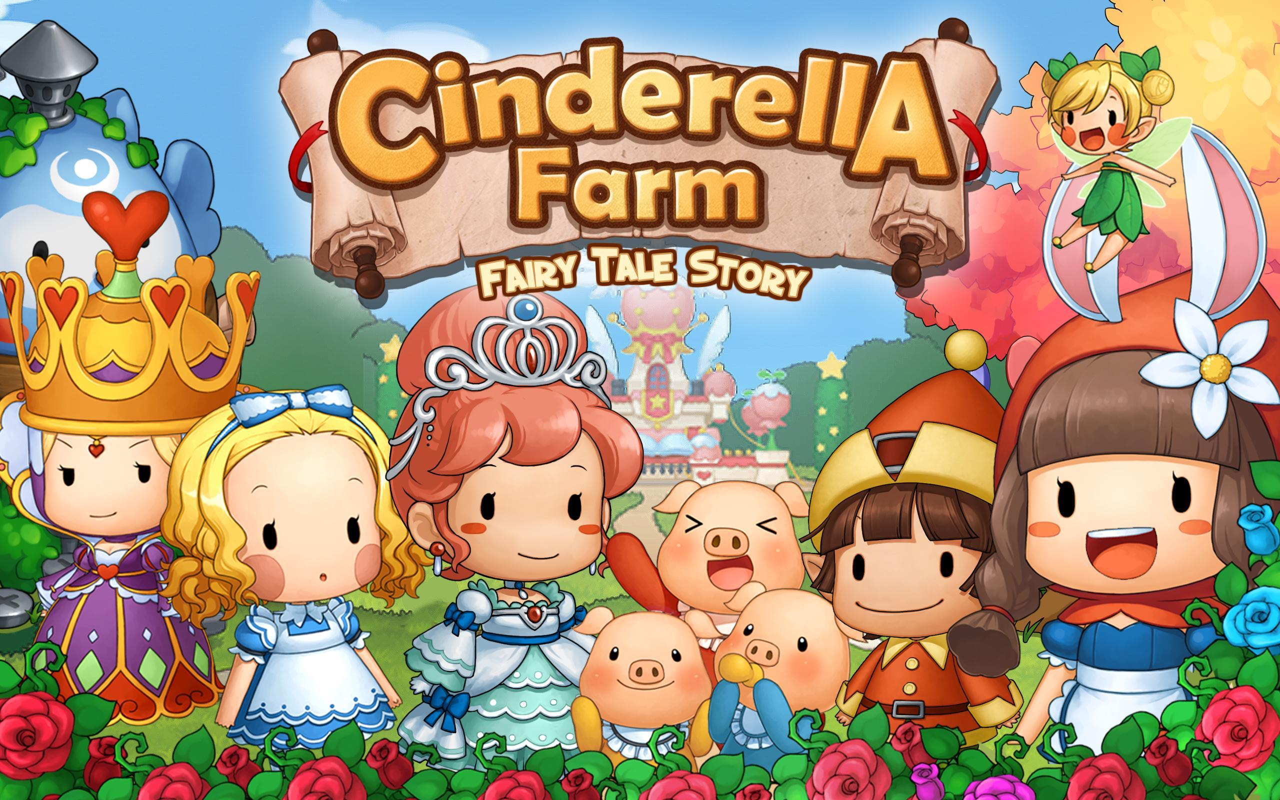 Cinderella Farm: Fairy Tale for Android - APK Download