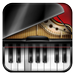 Learn piano game multitouch