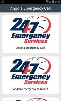 Angola Emergency Call poster