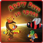 Angry Dave : in space icon