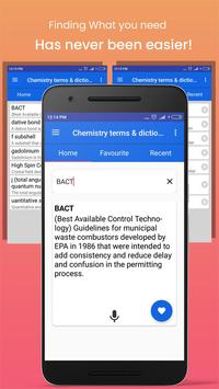 Chemistry dictionary and terms screenshot 2