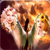 Angel Dual Photo Frames icon