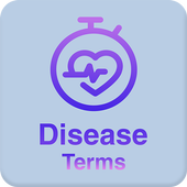 Disease dictionary and terms icon