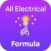 Electrical formula and calculation icon