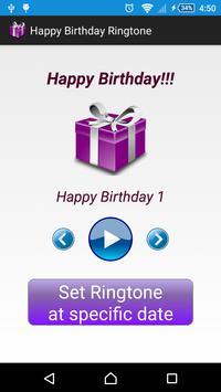 Happy Birthday Ringtone poster