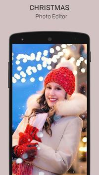 Merry Christmas Photo Editor screenshot 1