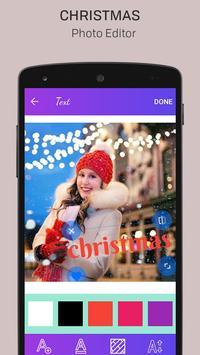 Merry Christmas Photo Editor screenshot 3