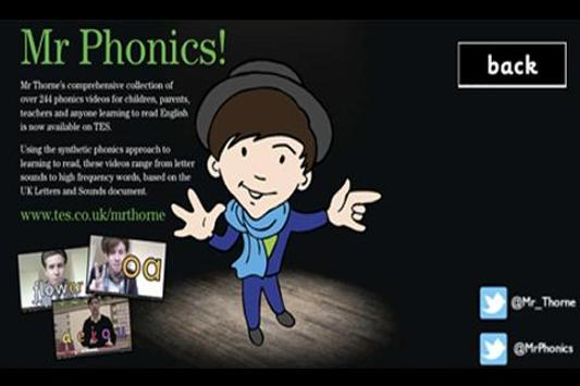 Letters and Sounds Part 1 apk screenshot