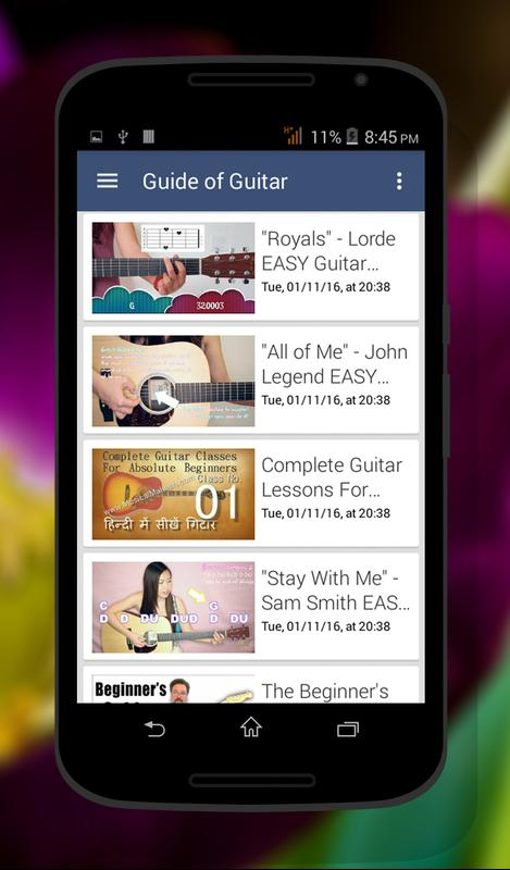 Guitar Chord Guide APK Download - Free Education APP for Android ...