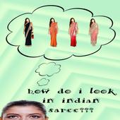 Indian Saree Photo App icon