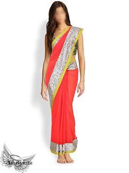 Indian Saree Photo App poster