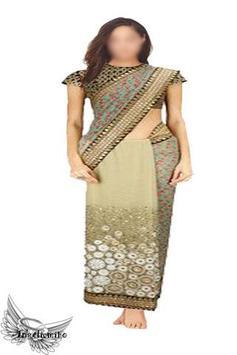 Indian Saree Photo App screenshot 1