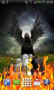 Angel of Death Fire Flames LWP poster
