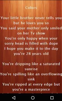 Halsey Best Music Lyrics apk screenshot