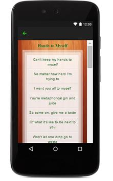Selena Gomez Music Lyrics apk screenshot