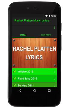 Rachel Platten Music Lyrics poster