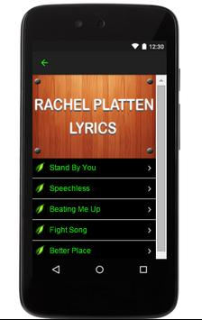 Rachel Platten Music Lyrics apk screenshot