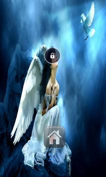 Angels In hd  Lock Screen poster
