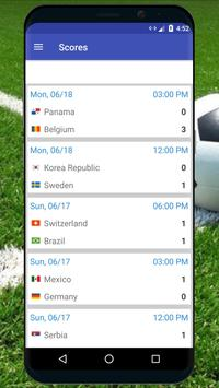 Football World Cup 2018 Russia Live Scores poster