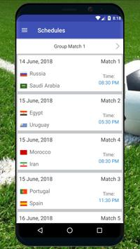 Football World Cup 2018 Russia Live Scores apk screenshot