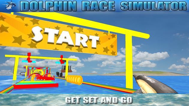 Dolphin Race Simulator apk screenshot