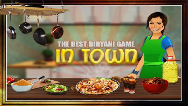 Biryani Maker Cooking Game poster