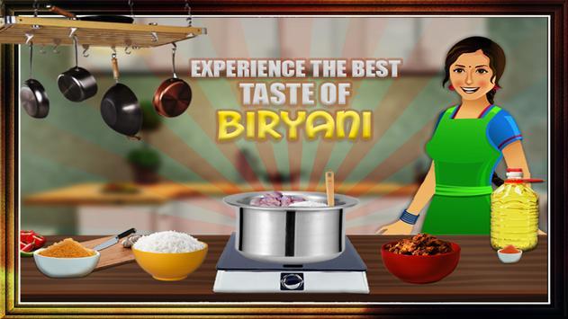 Biryani Maker Cooking Game apk screenshot