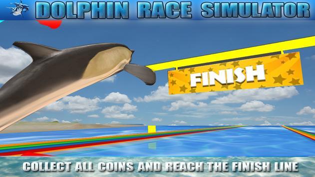 Dolphin Race Simulator screenshot 4